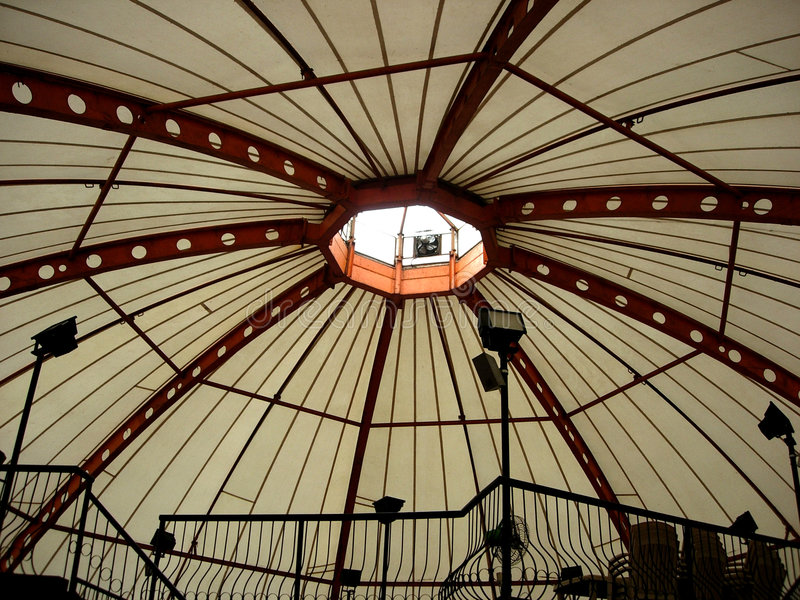 Domed roof royalty free stock photos