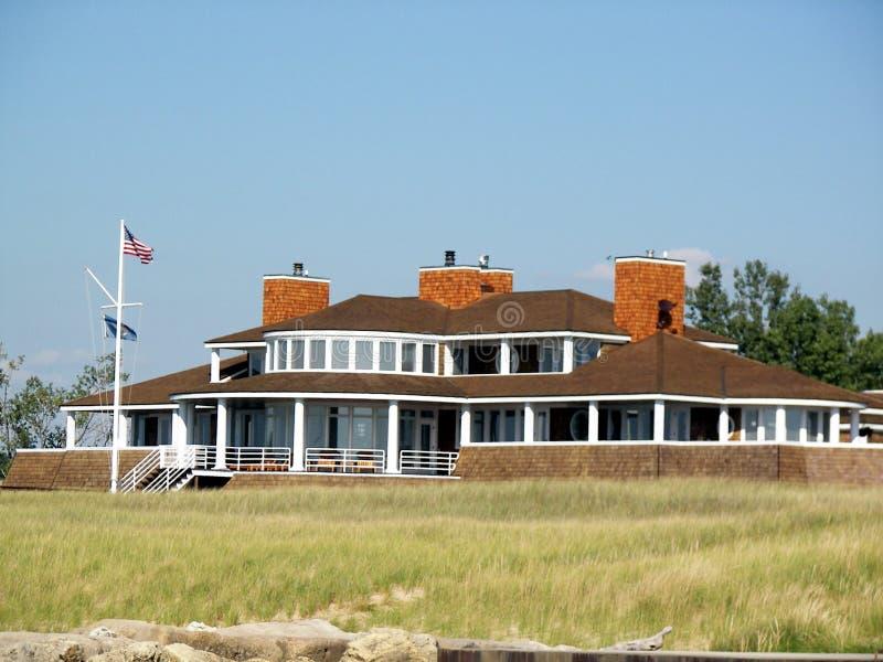 domek na plaży obraz stock