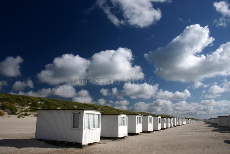 domek na plaży zdjęcie stock