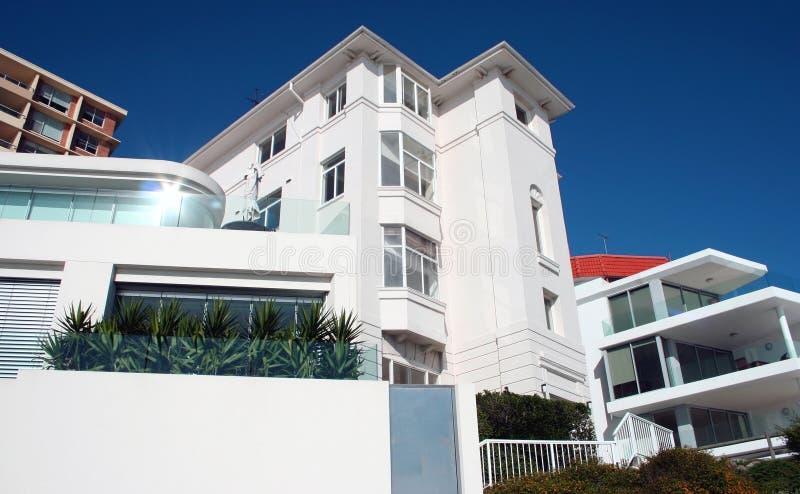domek na plaży w australii fotografia stock