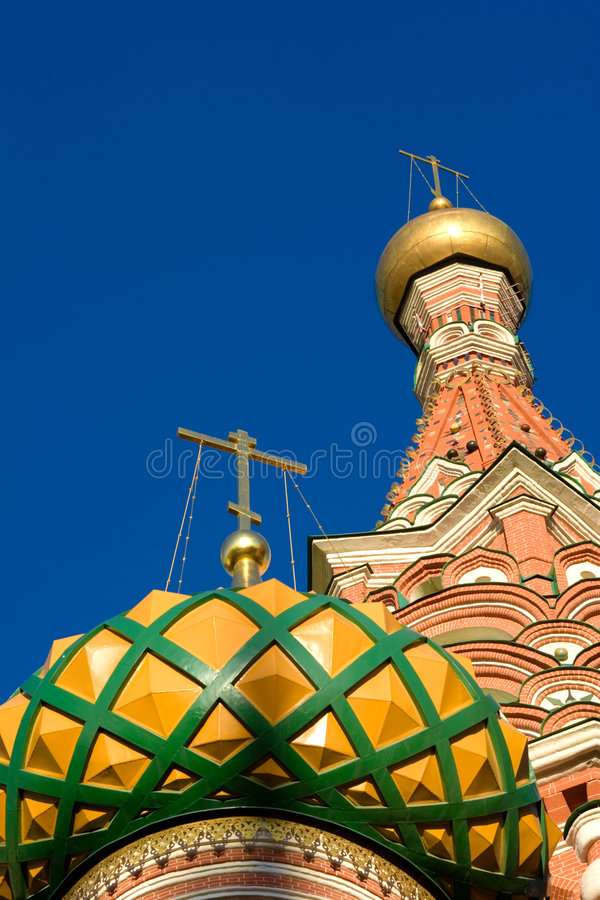 Download Domes Of The Famous Head Of St Stock Image - Image: 2307543