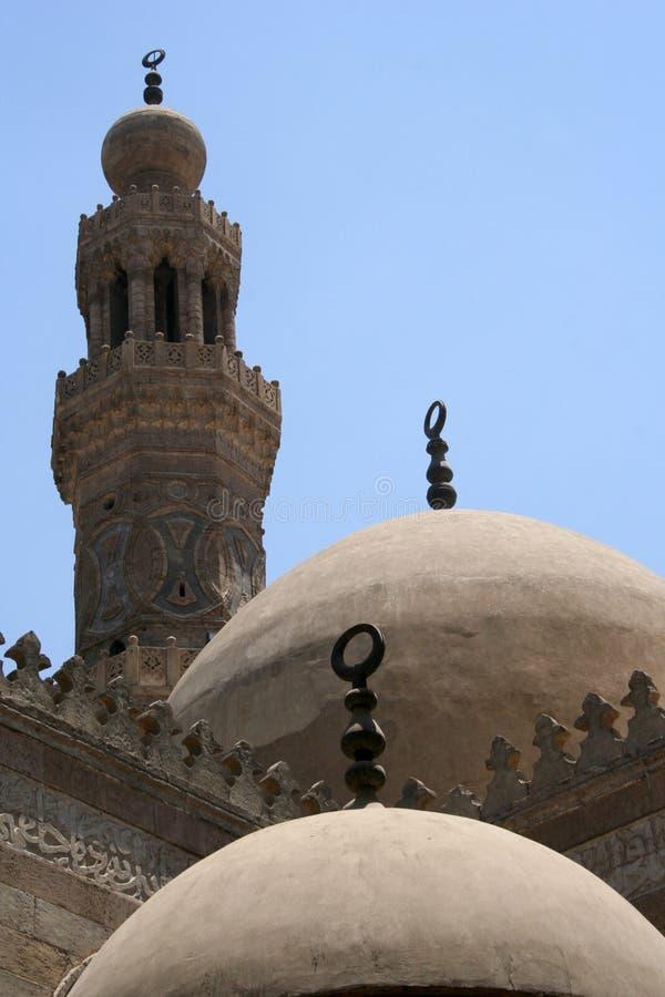 Download Domes & minaret in cairo stock image. Image of cairo, door - 955307