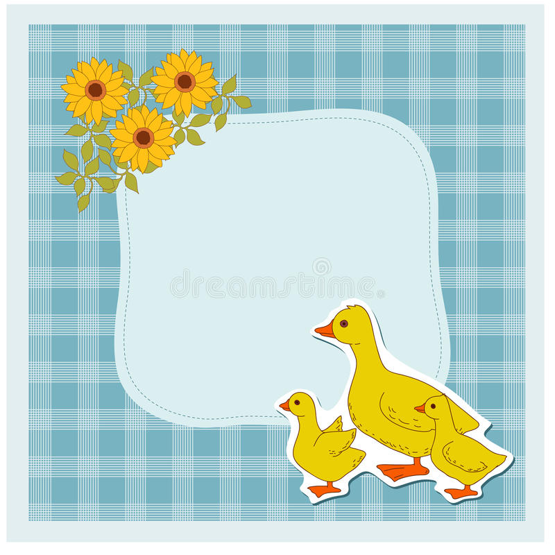 Download Domestic bird stock vector. Illustration of economy, decor - 33182718