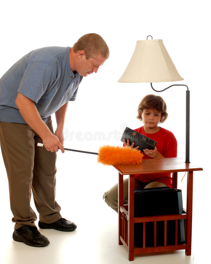 Domestic Dust Busters royalty free stock image