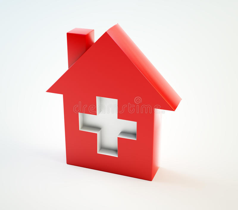 Domestic Healthcare Symbol Royalty Free Stock Photos