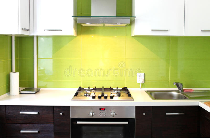 Download Domestic Kitchen stock image. Image of modern, home, style - 20512901
