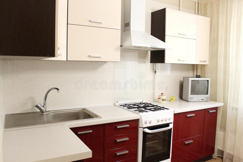 Domestic Kitchen Stock Photo