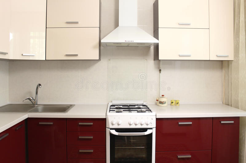 Download Domestic Kitchen Interior Design Stock Image - Image: 25802797