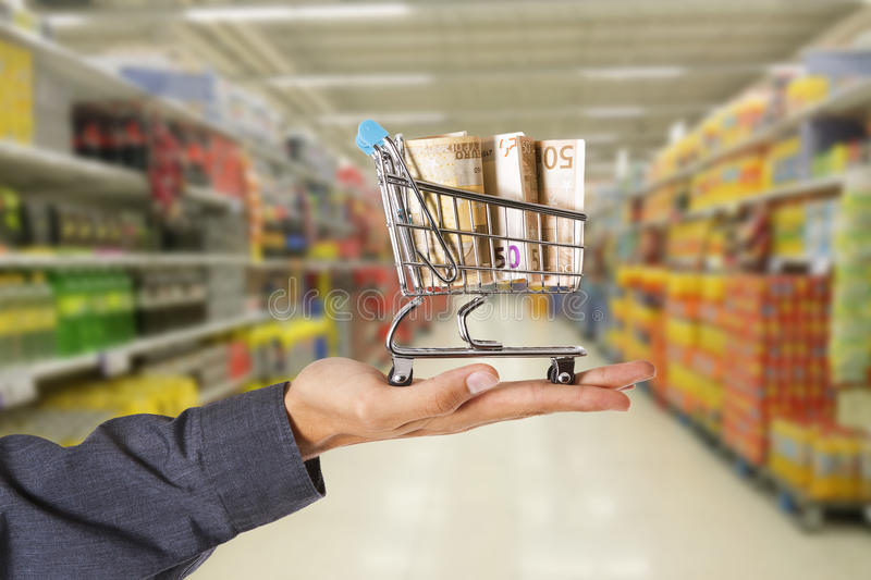 Domestic purchases and finance stock image
