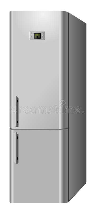 Download Domestic  refrigerator stock illustration. Image of home - 9733578