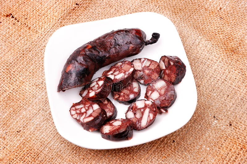 Download Domestic sausage stock photo. Image of sausage, snack - 13844348