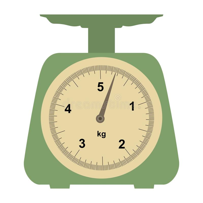 Download Domestic weigh-scales stock vector. Image of element - 24707084