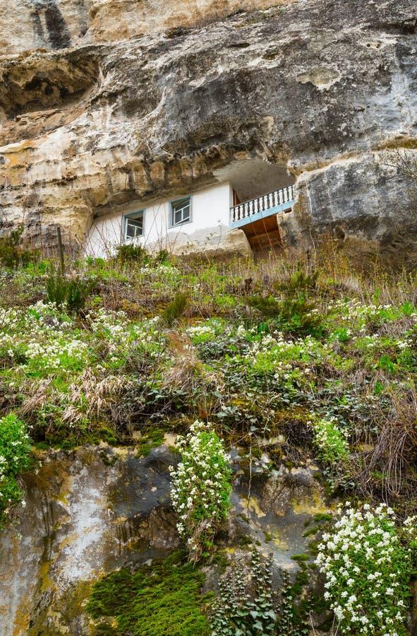 Domicílio da caverna foto de stock