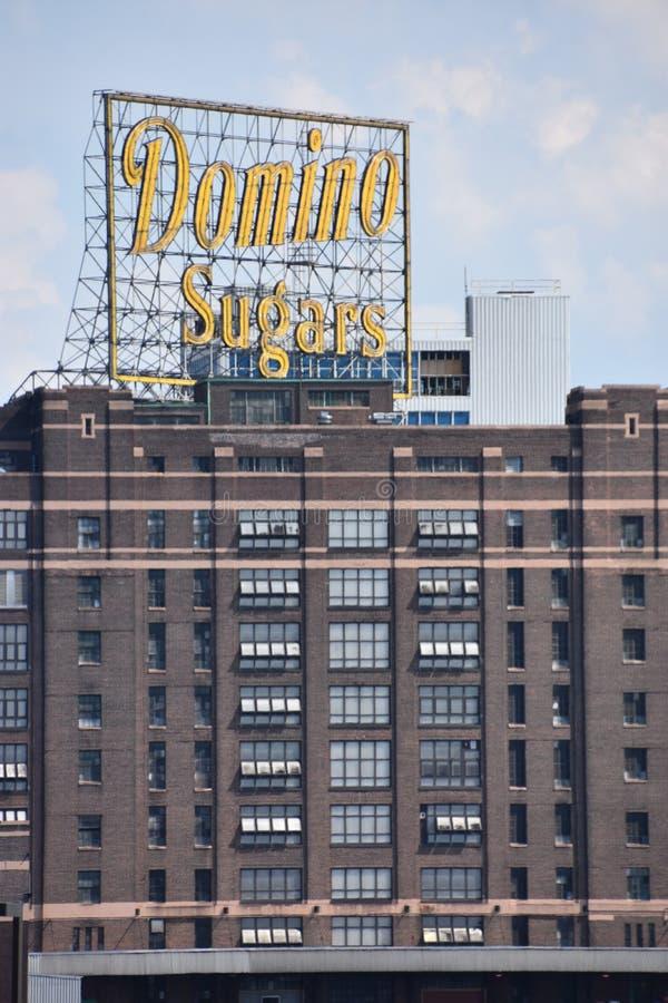 Dominó Sugar Factory em Baltimore, Maryland imagem de stock