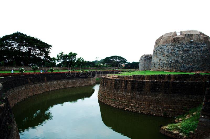 Dominant en altijdgroen fort van de grote Tipu-sultan royalty-vrije stock afbeelding