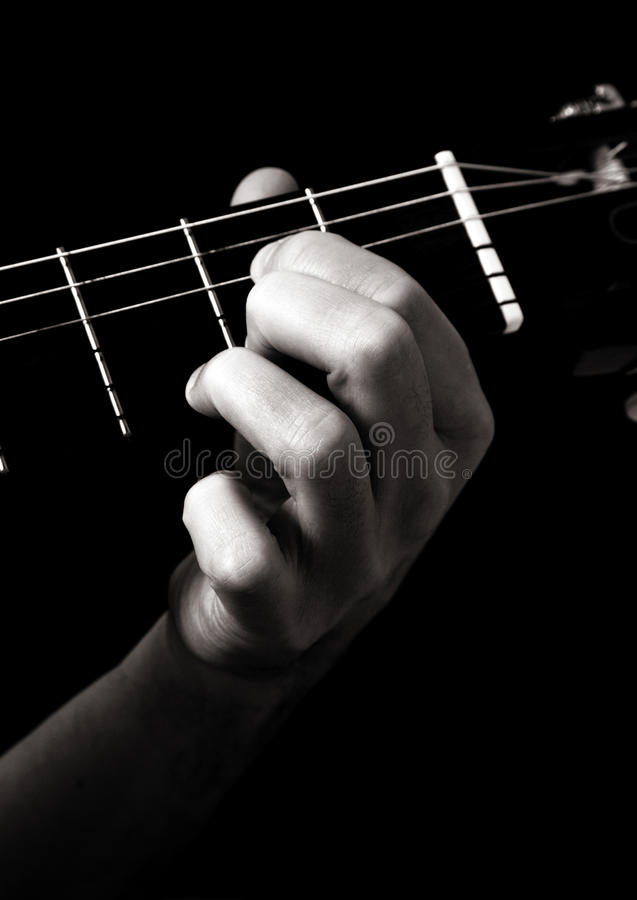Download Dominant Seventh Chord (A7) Stock Photo - Image: 16324922
