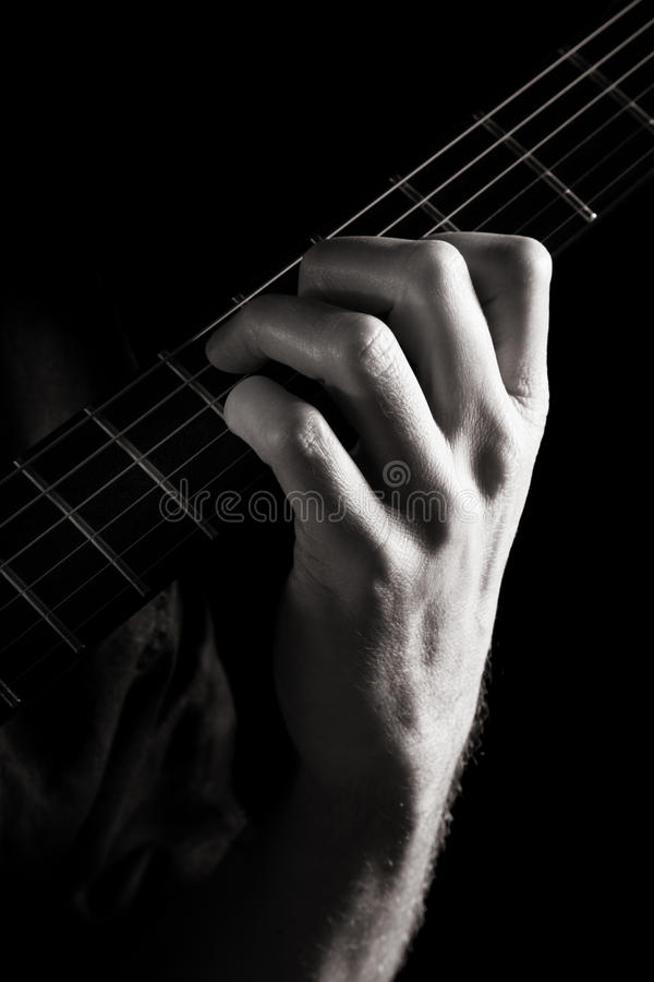 Dominant Seventh Chord (E7) Stock Images