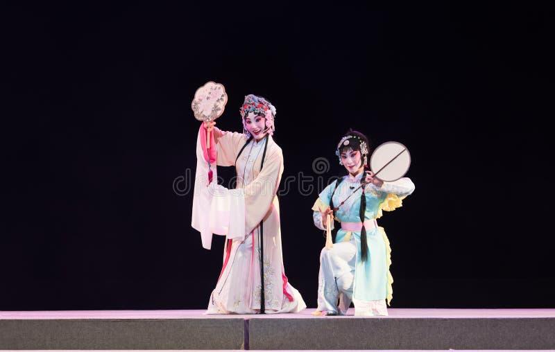 """Domine e empregado-registro de sonhos do sul do opera""""four de Ramo-jiangxi do  do linchuan†fotografia de stock"""