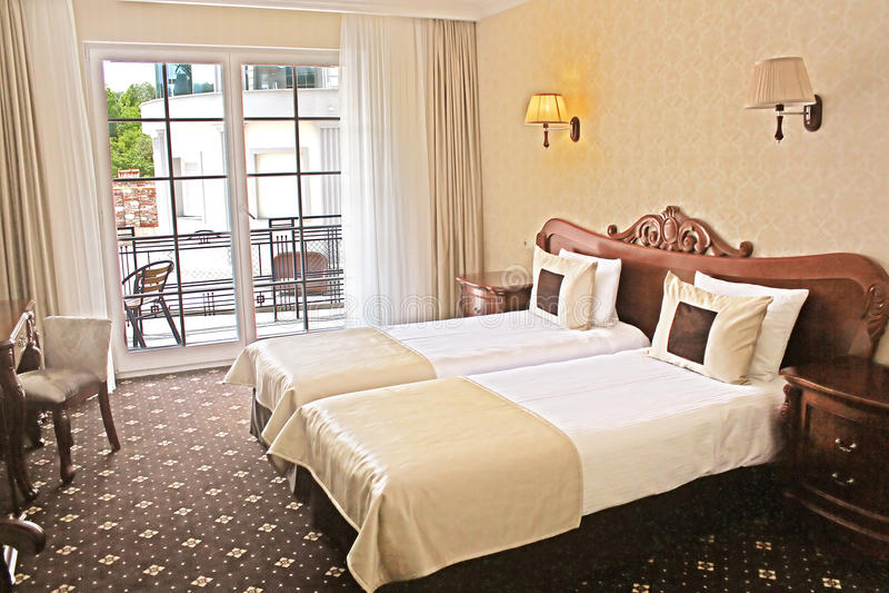 domingo hotellrumsanto arkivfoton