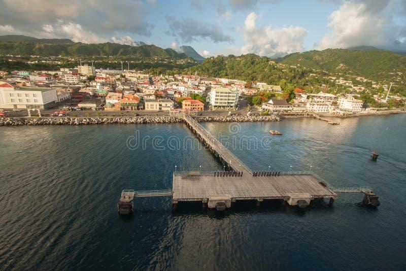 Dominica imagem de stock