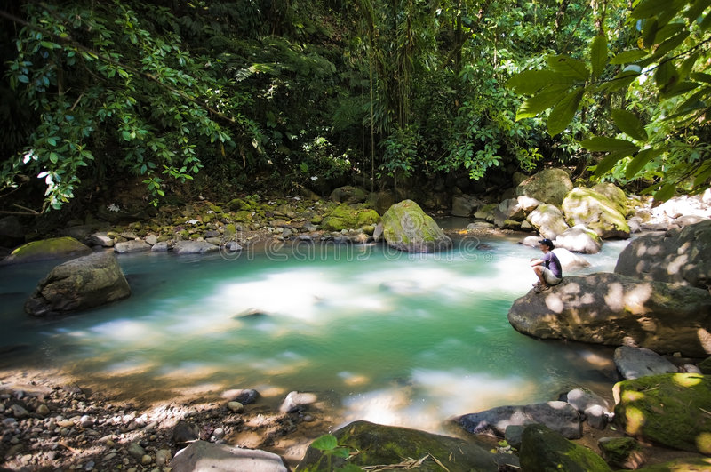 Dominica Explorations royalty free stock photo