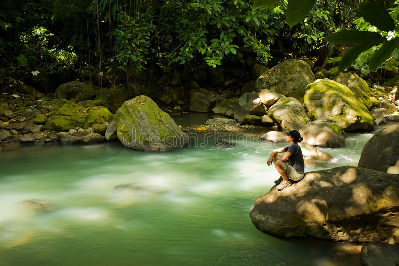 Dominica Explorations royalty free stock images
