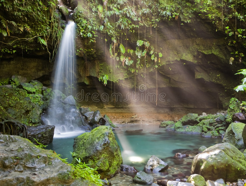 Dominica Explorations stock images