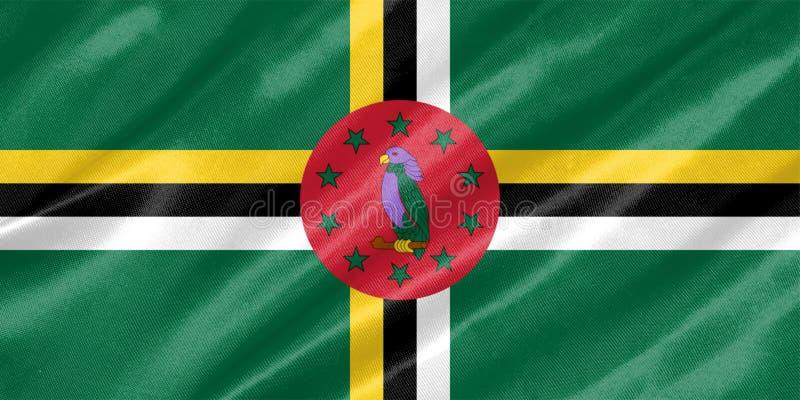 Dominica Flag fotografia de stock royalty free