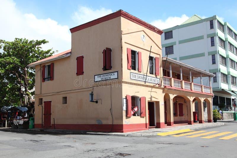 Dominica Museum en Roseau, Dominica foto de archivo libre de regalías