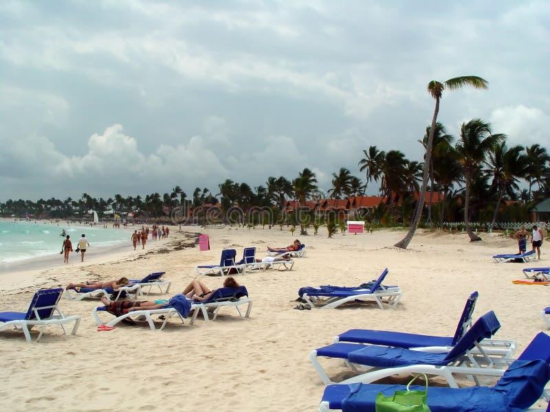 dominican пляжа стоковые изображения