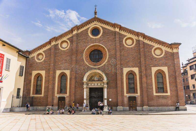 Santa Maria delle Grazie, Milan royalty free stock photography