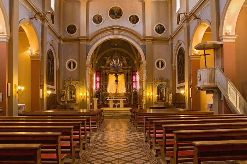 Dominican monastery - Stari Grad, Hvar, Croatia stock images