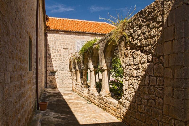 Dominican monastery 3 - Stari Grad, Hvar, Croatia stock images