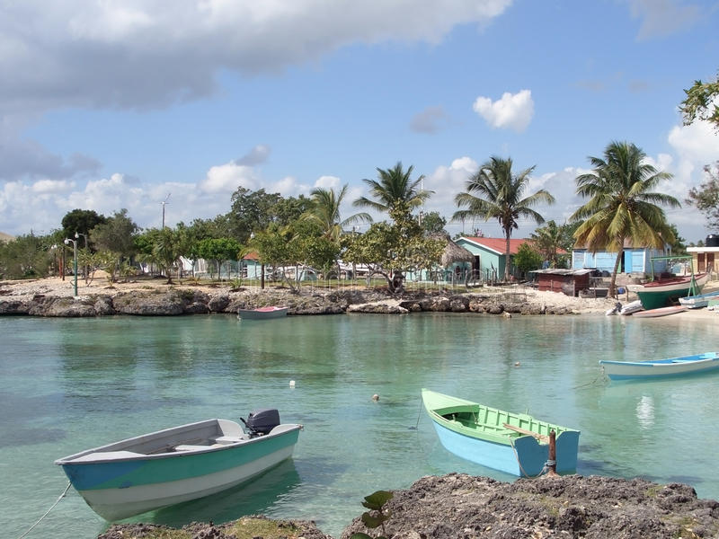Dominican Republic Coastal Scenery Royalty Free Stock Photos