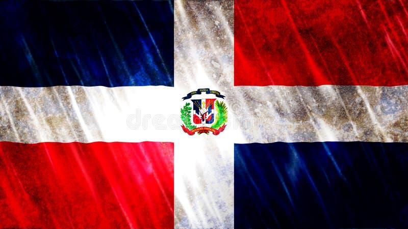 Dominican Republic Flag. For Print, Wallpaper Purposes, Size : 7680  x 4320 Pixels, 300 dpi, Jpg Format stock photography