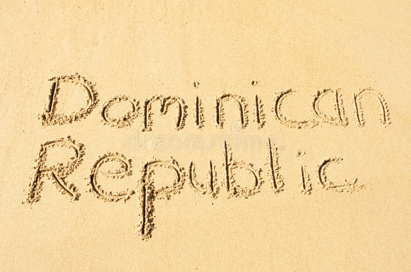 Dominican Republic royalty free stock photography