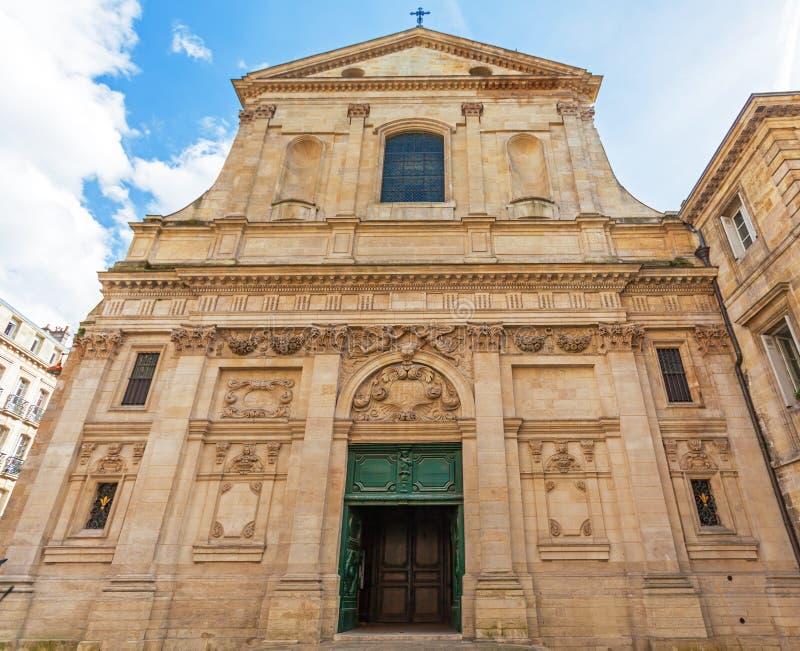Dominicano Eglise Saint Paul, stile barrocco, Bordeaux immagini stock libere da diritti