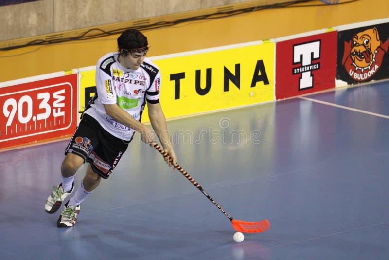 Dominik Hanic - Floorball Player Editorial Photo