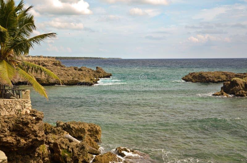 Dominikanische Ansicht stockbilder