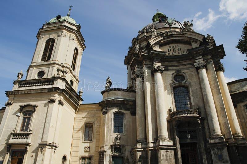 Dominikanische Kirche stockfotos