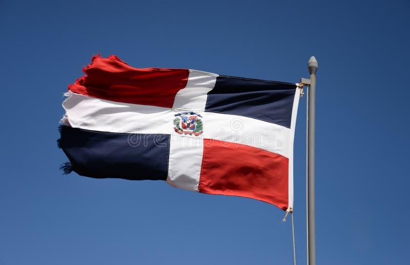 dominikansk flaggarepublik arkivfoto