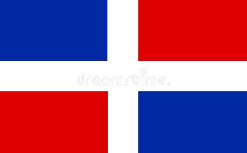 Dominikanska republiken royaltyfri illustrationer