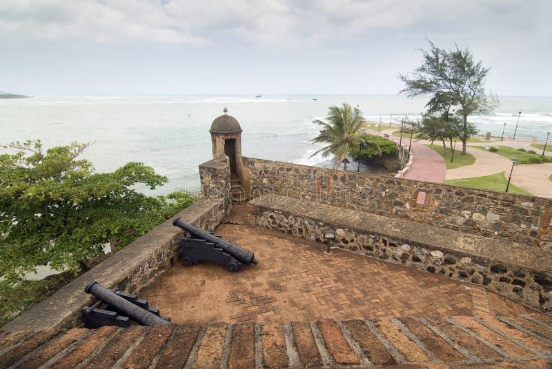 Dominikanska republikenfästning arkivbilder