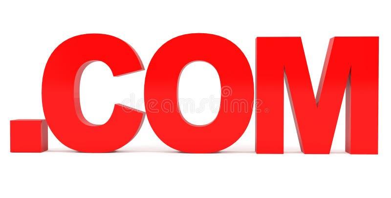 Dominio. COM stock de ilustración