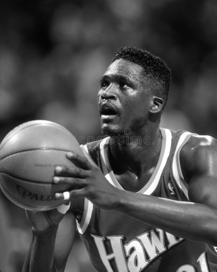 Dominique Wilkins images stock
