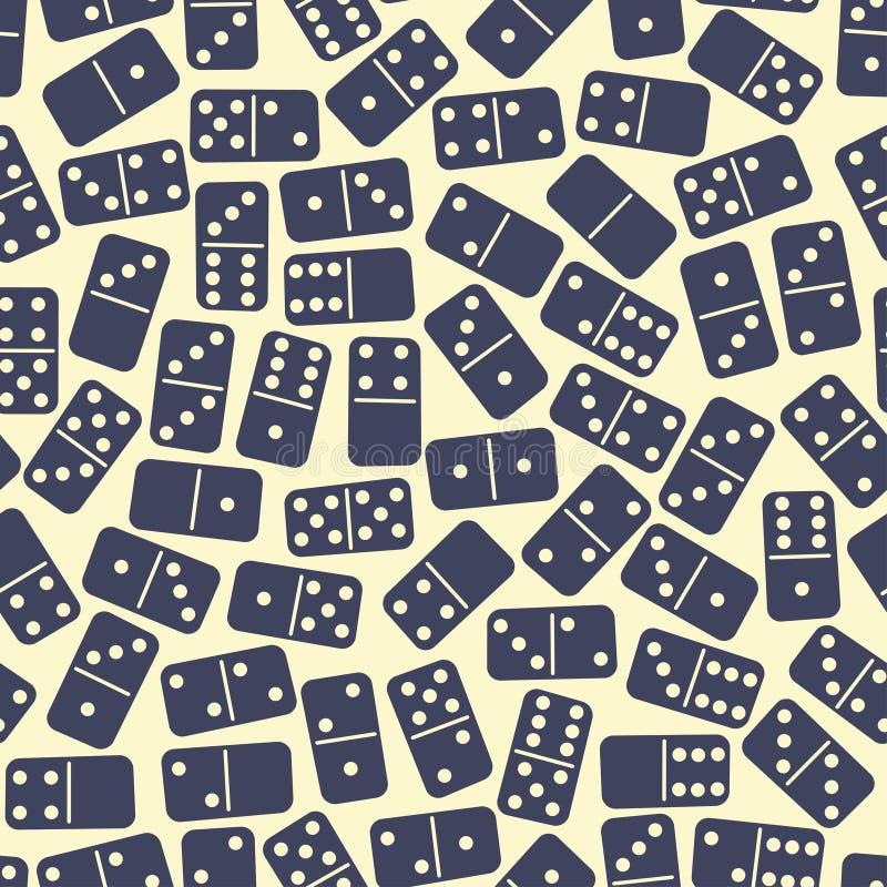 Domino模式 库存例证