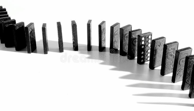 Domino蛇 库存例证