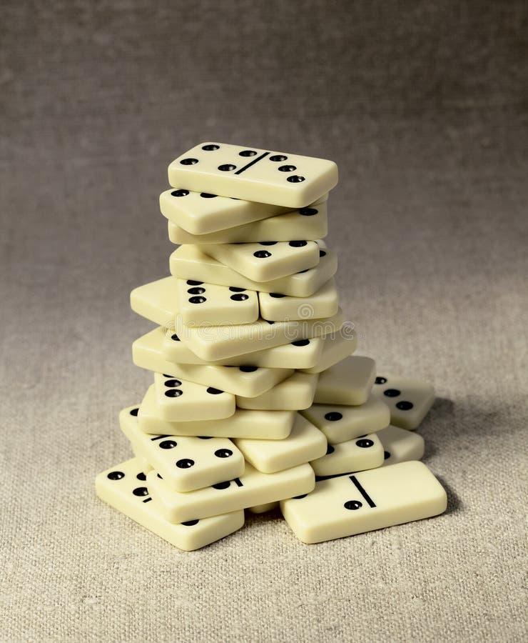 Domino高塔 库存图片