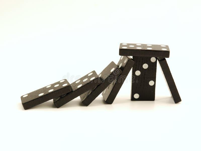 domino 1 zdjęcie royalty free