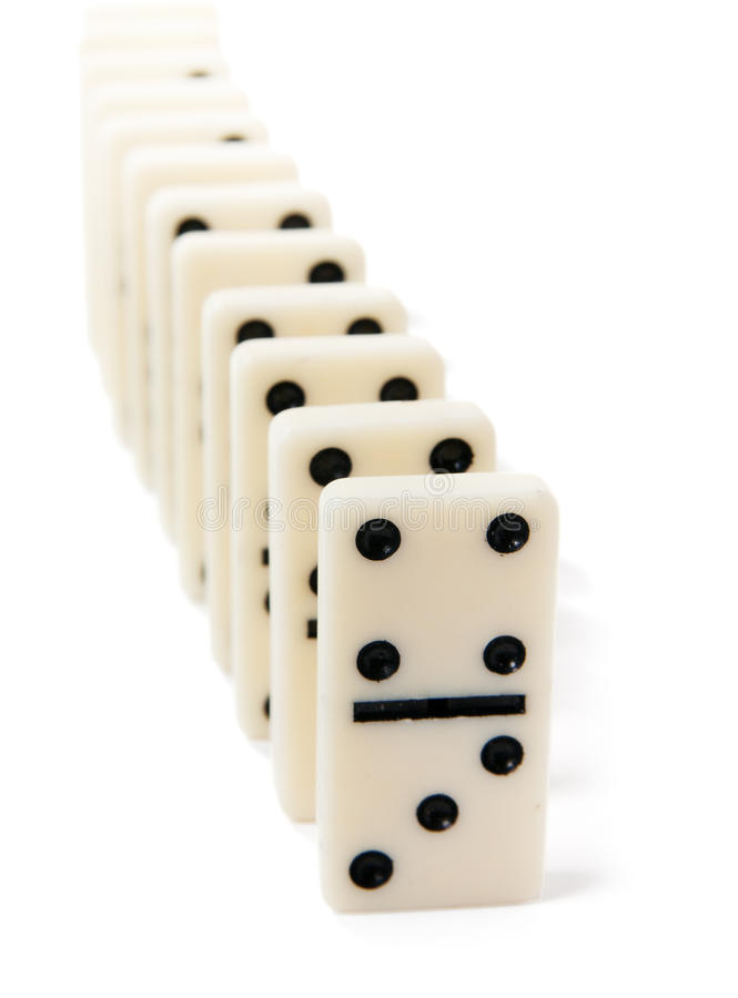 Download Domino stock image. Image of push, black, number, group - 17029221